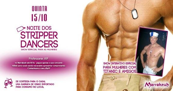 Noite dos Stripper Dancers com show especial no Marrakesh Club Eventos BaresSP 570x300 imagem