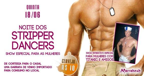 Quinta-feira é a Noite dos Stripper Dancers no Marrakesh Club Eventos BaresSP 570x300 imagem