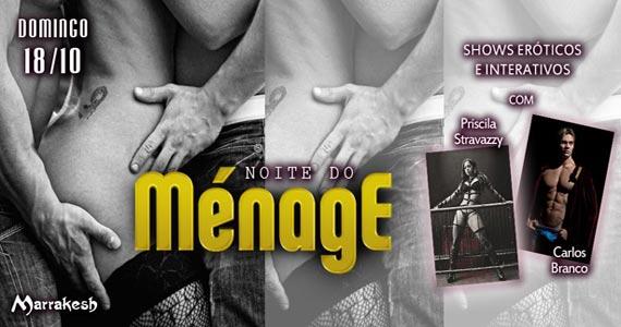Noite do Ménage com shows erótikos e interativos no Marrakesh Club Eventos BaresSP 570x300 imagem