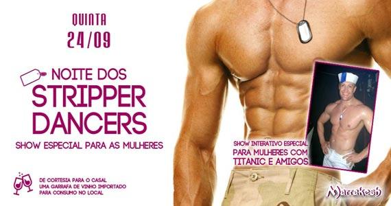Quinta-feira tem a Noite dos Stripper Dancers com show interativo no Marrakesh Club Eventos BaresSP 570x300 imagem