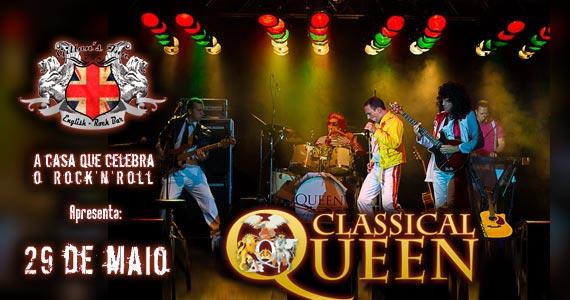 Banda Classical Queen comanda a noite com o melhor do pop rock no Gillan's Inn Eventos BaresSP 570x300 imagem
