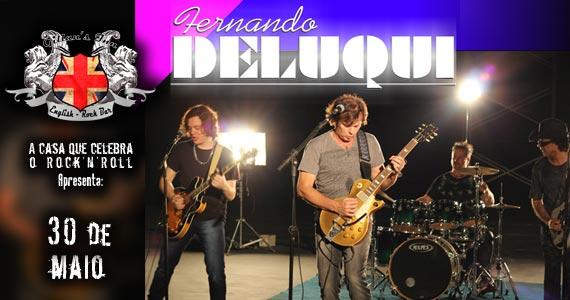 Cantor e guitarrista Fernando Deluqui lança projeto solo no palco do Gillan's Inn com muito pop rock Eventos BaresSP 570x300 imagem
