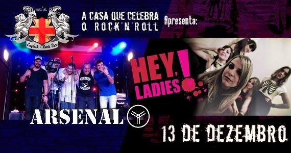 Bandas Arsenal Y e Hey Ladies animam a noite com o melhor do rock no Gillans Inn Eventos BaresSP 570x300 imagem