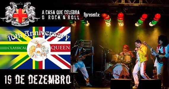 Banda Classical Queen comanda o agito nesta sexta-feira no Gillan's Inn Eventos BaresSP 570x300 imagem