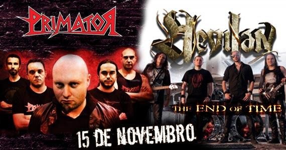 Gillan's Inn recebe as bandas de metal brasileiro Primator e Hevilan neste sábado Eventos BaresSP 570x300 imagem