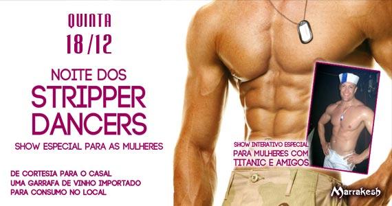 Marrakesh Club recebe a Noite dos Stripper Dancers para animar a quinta das mulheres Eventos BaresSP 570x300 imagem