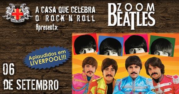 Banda Zoom Beatles embala a noite de sábado com clássicos do rock no Gillans Inn Eventos BaresSP 570x300 imagem