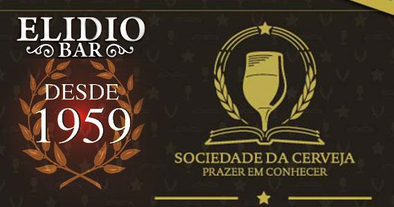 A Sociedade da Cerveja promove degustação de cervejas no Elidio Bar na terça-feira Eventos BaresSP 570x300 imagem