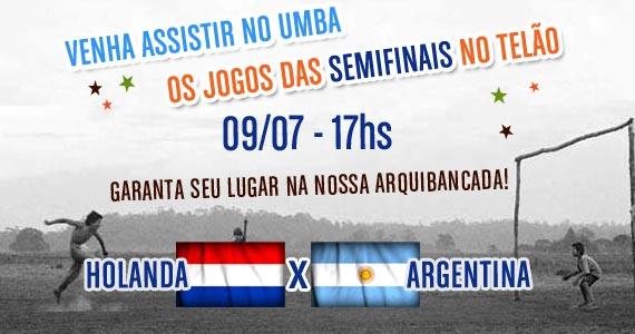 Umbabarauma Bar transmite jogo de Holanda x Argentina pelas semifinais da Copa do Mundo na quarta-feira Eventos BaresSP 570x300 imagem
