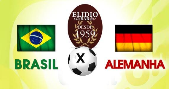 Elidio Bar transmite jogo de Brasil x Alemanha com bolão especial nesta terça-feira Eventos BaresSP 570x300 imagem