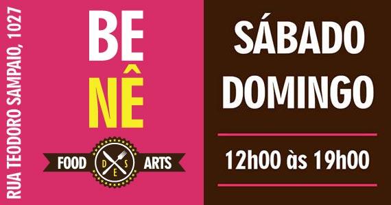 Benê Food des Arts reúne gastronomia, arte e diversão aos sábado e domingos em Pinheiros Eventos BaresSP 570x300 imagem