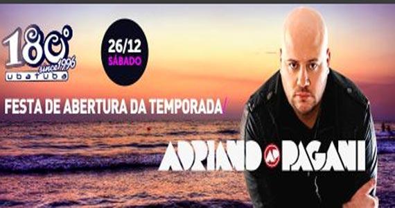 DJ Adriano Pagani anima a noite do 180 Graus Ubatuba Eventos BaresSP 570x300 imagem