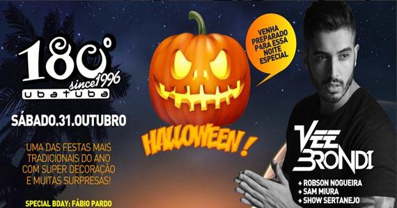 Noite de Halloween anima o 180 Graus Ubatuba com Vee Brondi e convidados Eventos BaresSP 570x300 imagem