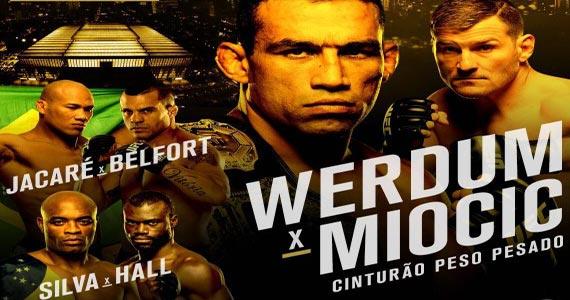 UFC 158 na tela da Companhia da Cerveja no sábado Eventos BaresSP 570x300 imagem