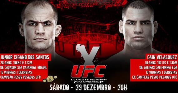 Buddies American Pub exibe luta do UFC entre Junior Cigano e Cain Velasquez Eventos BaresSP 570x300 imagem