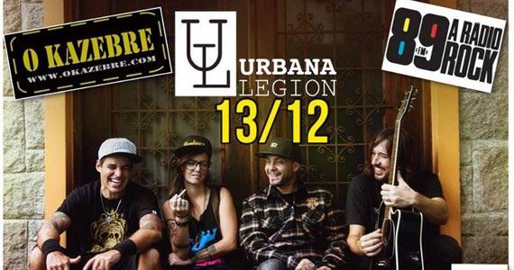 Banda Urbana Legion comanda a noite com muito pop rock no O Kazebre sábado Eventos BaresSP 570x300 imagem