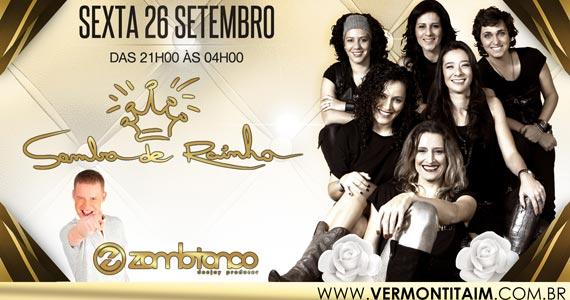 Samba de Rainha se apresenta no palco do Vermont Eventos BaresSP 570x300 imagem