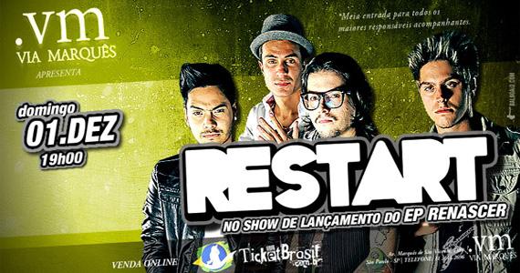 Restart lança novo álbum no show deste domingo no Via Marquês Eventos BaresSP 570x300 imagem