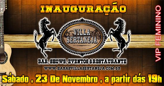 Inauguração da nova casa de show Villa Sertaneja neste sábado com programação especial Eventos BaresSP 570x300 imagem