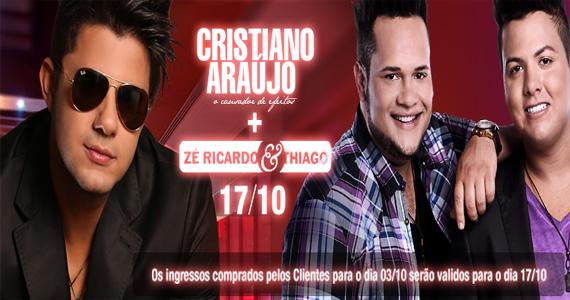 Cristiano Araújo e Zé Ricardo & Thiago se apresentam nesta quinta-feira no Villa Country Eventos BaresSP 570x300 imagem