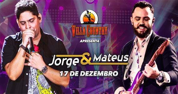 Dupla Jorge & Mateus embalam o palco do Villa Country tocando sucessos Eventos BaresSP 570x300 imagem