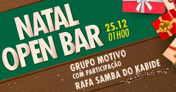 Natal Open Bar com Grupo Motivo e Rafa do Samba do Kabide no Villa do Jorge Eventos BaresSP 570x300 imagem