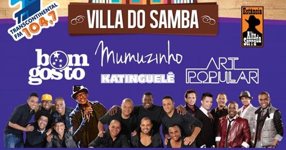 Villa do Samba com Art Popular e Convidados no Estância Alto da Serra Eventos BaresSP 570x300 imagem