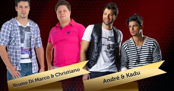 Villa Mix recebe duplas Bruno di Marco & Christiano e André & Kadu para agitar a noite de sexta-feira Eventos BaresSP 570x300 imagem