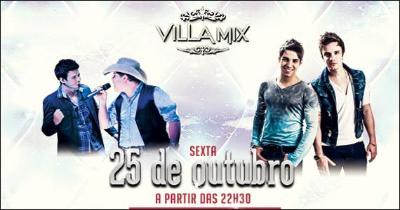 Apresentação das duplas Bruno Di Marco & Cristiano e Fábio & Renan no Villa Mix Eventos BaresSP 570x300 imagem