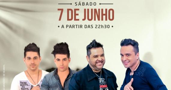 Os sucessos das duplas Leandro & Gustavo e Danny & Allan no Villa Mix Eventos BaresSP 570x300 imagem