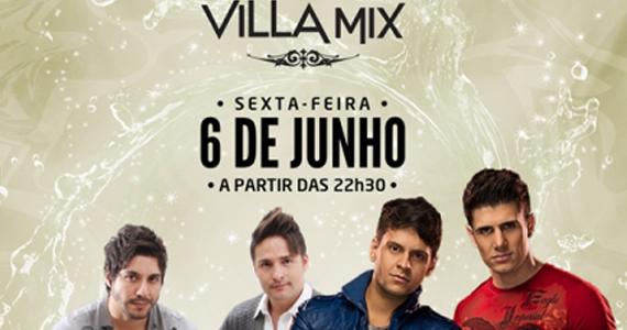 Villa Mix recebe nesta sexta shows de Lucas & João Pedro e Jaime & Alexandre Eventos BaresSP 570x300 imagem