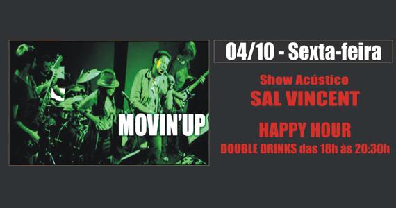 Sal Vincent & Banda Movin' Up levam rock para a sexta-feira do Republic Pub - Noite Red Label Eventos BaresSP 570x300 imagem