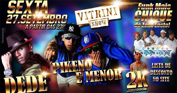 Vitrini Show anima a sexta-feira ao som de funk com funkeiros convidados Eventos BaresSP 570x300 imagem