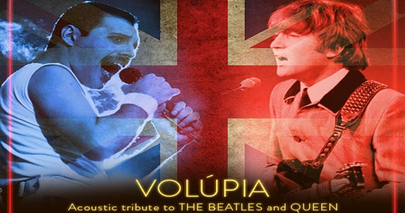 Banda Volúpia realiza tibuto das Bandas The Beatles e Queen no B Music Bar Eventos BaresSP 570x300 imagem