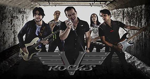 Banda V Rocks toca Bon Jovi, Elvis e outros grandes nomes do Rock no Dinossauros - Rota do Rock Eventos BaresSP 570x300 imagem