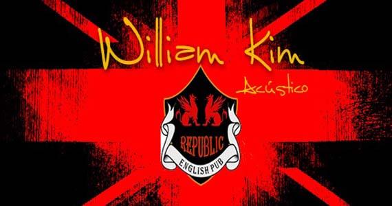 William Kim e Banda Insônica levam muito pop rock para a sexta-feira do Republic Pub Eventos BaresSP 570x300 imagem
