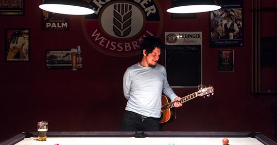 Terça-feira é dia de música acústica com William Kim no St. John's Irish Pub Eventos BaresSP 570x300 imagem