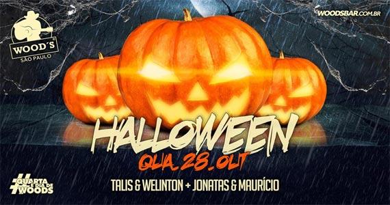 Woods realiza Festa de Halloween com muitas atrações e sertanejo na quarta Eventos BaresSP 570x300 imagem