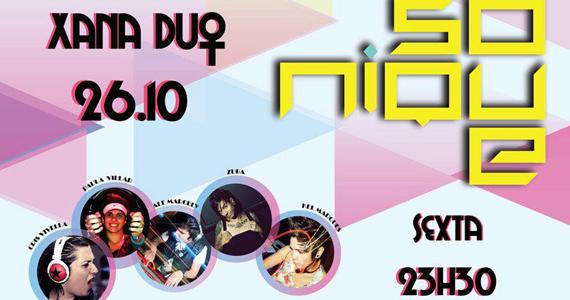 Festa Xana Duo da Sonique tem DJs Zuba e Ale Marcely Eventos BaresSP 570x300 imagem