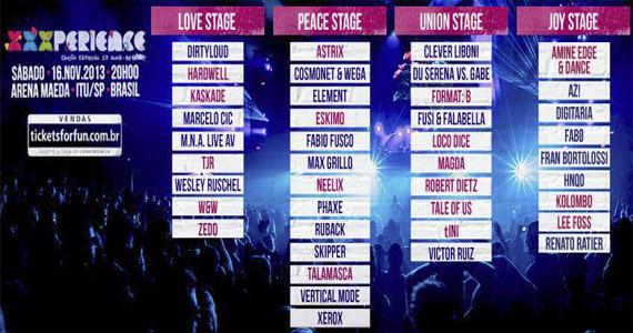 Festival de música eletrônica XXXPerience celebra 17 anos com mais de 40 atrações Eventos BaresSP 570x300 imagem