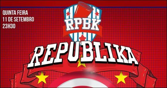 Festa Republika agita a quinta-feira com DJs convidados no Club Yacht Eventos BaresSP 570x300 imagem