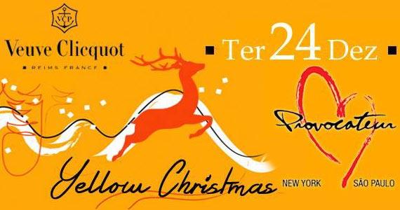 Balada de Natal Yellow Christmas na Provocateur Eventos BaresSP 570x300 imagem