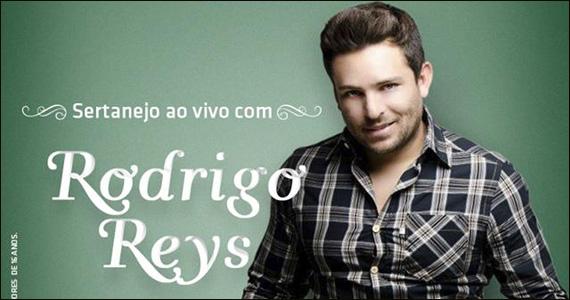 Zé Bonito Bar recebe no sábado o cantor Rodrigo Reys - Rota do Rock Eventos BaresSP 570x300 imagem
