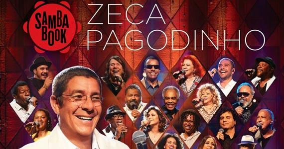 Sambabook Zeca Pagodinho acontece nesta quinta-feira no Espaço das Américas Eventos BaresSP 570x300 imagem