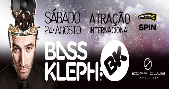 Zoff Club recebe atração internacional Bass Kleph para animar a noite deste sábado Eventos BaresSP 570x300 imagem