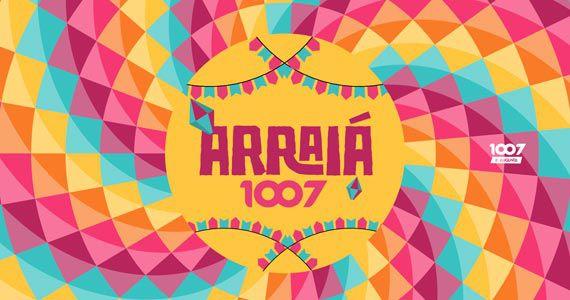 Arraiá da 1007 com barraca do beijo, pescaria, correio elegante e DJs nas pick-ups Eventos BaresSP 570x300 imagem