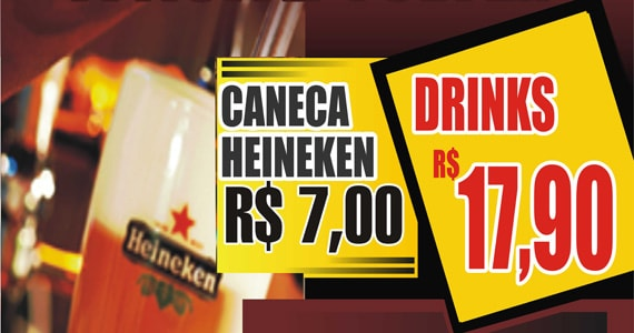 Noite de Chopp e Drinks com som do DJ Well no Republic Pub