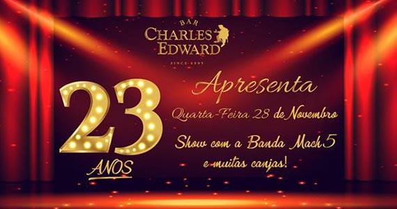 Bar Charles Edward comemora aniversário de 23 anos com festa e renovação carta de drinks Eventos BaresSP 570x300 imagem