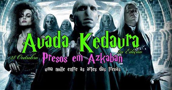 2ª Edição Avada Kedavra: Presos em Azkaban no Inferno Club para quem tem o pé nas Artes das Trevas Eventos BaresSP 570x300 imagem