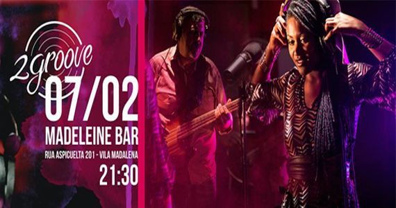 Terça-feira o Bar Madeleine recebe o show de jazz do duo 2 Groove  Eventos BaresSP 570x300 imagem